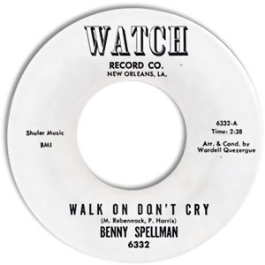 Walk On Don't Cry/ Please Mr. Genie