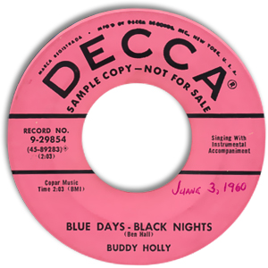 Blue Days - Black Nights/ Love Me