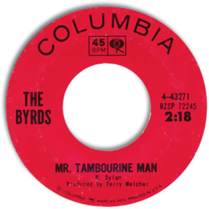 Mr. Tambourine Man/ I Knew I'd Want You