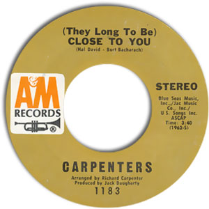 (They Long To Be) Close To You/ I Kept On Loving You