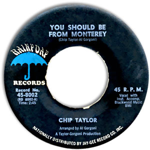 Chip Taylor, Rainy Day 8002