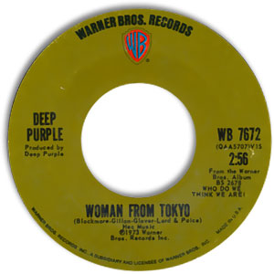 Woman from Tokyo/ Super Trouper