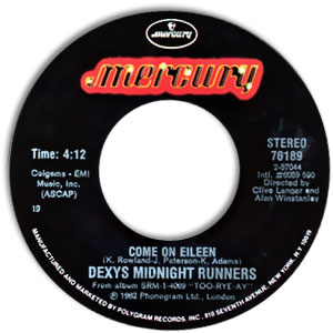 Dexy's Midnight Runners, Mercury 76189
