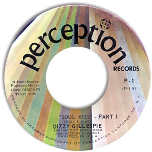 Dizzy Gillespie, Perception 1