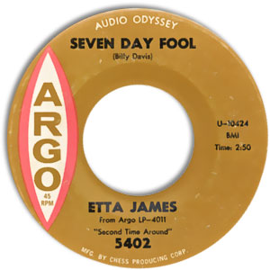 Etta James, Argo 5402