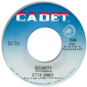 Security/ I'm Gonna Take What He's Got
