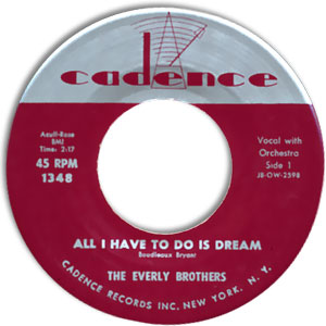 All I Have To Do Is Dream/ Claudette