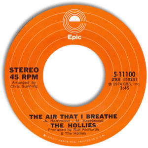 The Air That I Breathe/ No More Riders