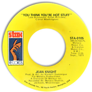 You Think You're Hot Stuff/ Don't Talk About Jody