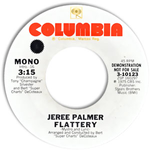 Jeree Palmer, Columbia 10123