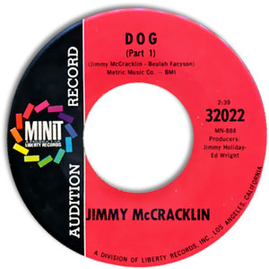 Jimmy McCracklin, Minit 32022