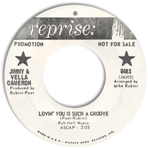 Lovin' You Is Such A Groove/ I Know A Place