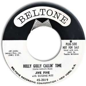 Hully Gully Callin' Time/ No Not Again