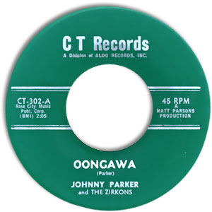 Johnny Parker and the Zirkons, CT 302