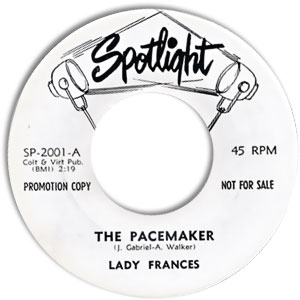 Lady Frances, Spotlight 2001