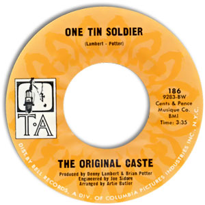 One Tin Soldier/ Live For Tomorrow