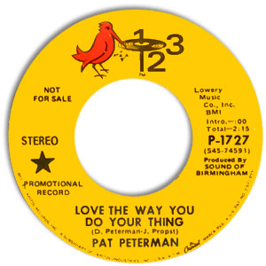 Pat Peterman, 123 1727