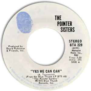 Yes We Can Can/ Jada