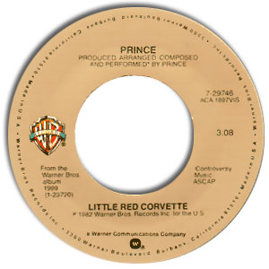 Little Red Corvette/ All the Critics Love U in New York