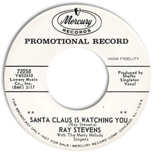 Santa Claus Is Watching You/ Loved and Lost