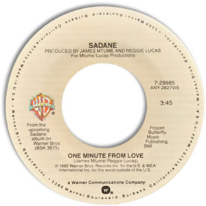 One Minute From Love/ Never Had A Love Like You