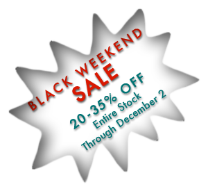 Black Weekend Sale!