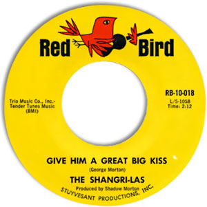 Give Him A Great Big Kiss/ Twist and Shout
