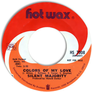 Frightened Girl/ Colors Of My Love