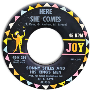 Sonny Stiles And His Kings Men, Joy 299