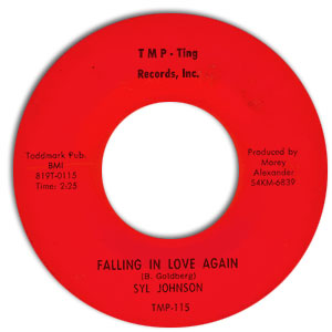 Falling In Love Again/ I've Got To Get Over