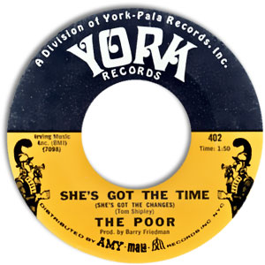 She's Got The Time (She's Got The Changes)/ Love Is Real