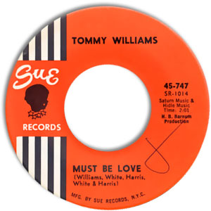 Tommy Williams, Sue 747