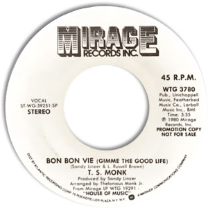 Bon Bon Vie (Gimme The Good Life)