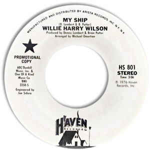 Willie Harry Wilson, Haven 801